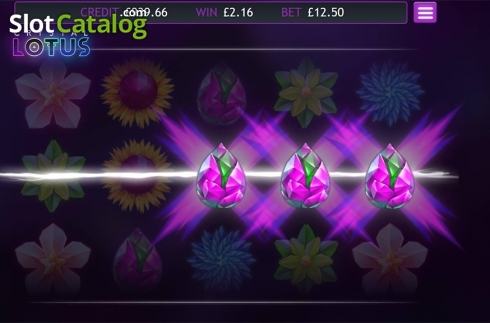 Skärm3. Crystal Lotus (Video Slot från Eyecon)