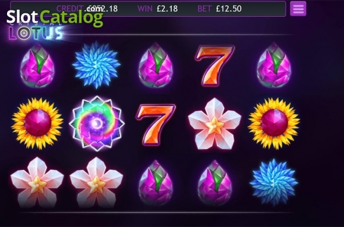 Skärm5. Crystal Lotus (Video Slot från Eyecon)