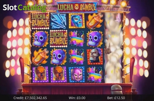 Free Spins 1. Lucha Rumble (Video Slot from Eyecon)