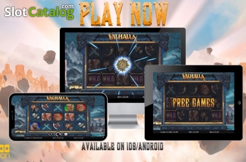 Info. Champions of Valhalla Jackpot (Video Slot from Eyecon)