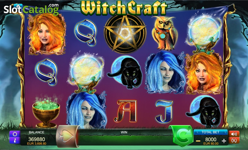 Review of WitchCraft (Video Slot from FUGA Gaming) RTP:96 ...