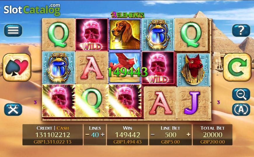 3 elements fuga gaming casino slots bundle hunter ultra]