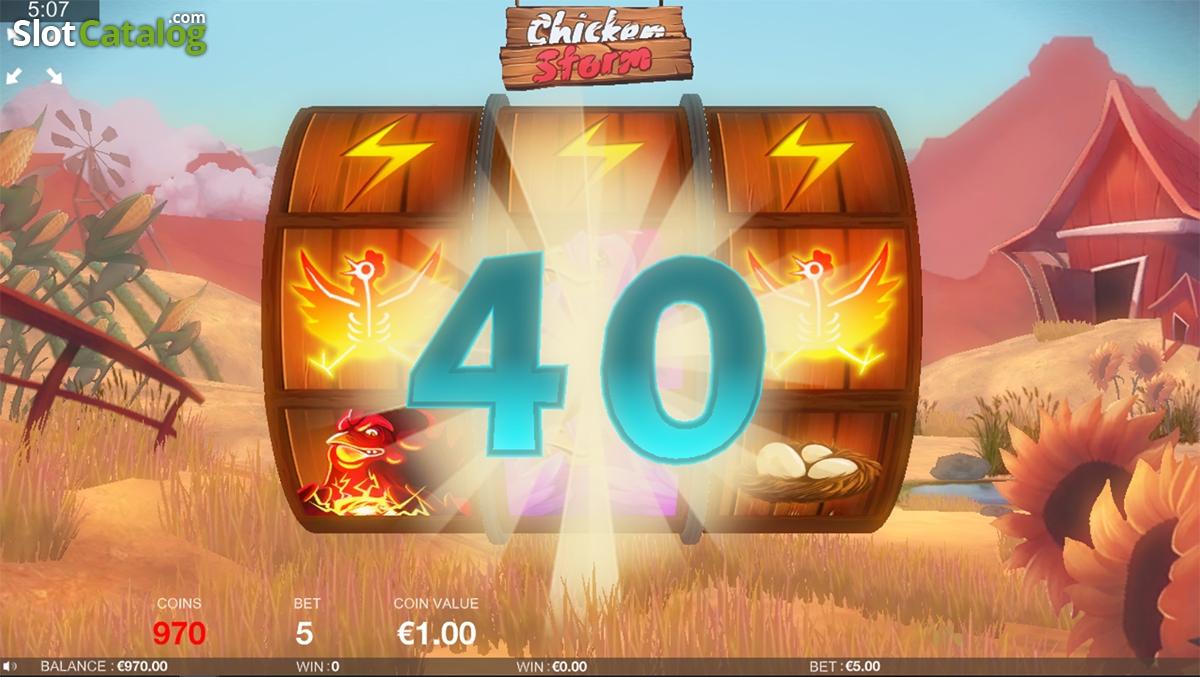 Spiele Chicken Storm - Video Slots Online