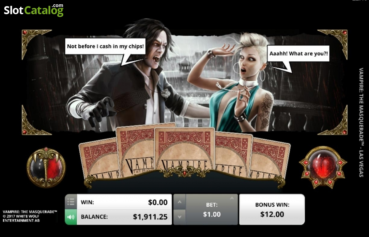 Vampire: The Masquerade Las Vegas Slots - Play Now for Free