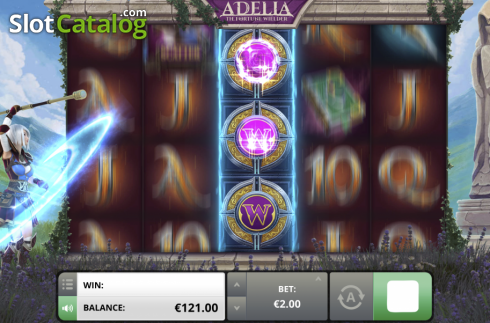 Respin. Adelia The Fortune Wielder (Video Slot from Foxium)