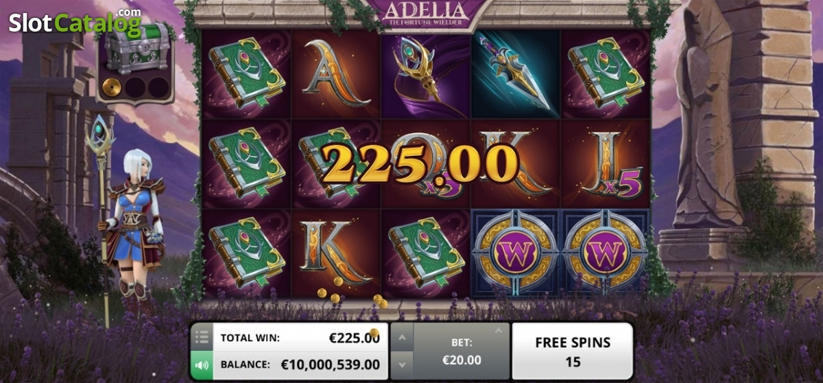 Spiele Adelia The Fortune Wielder - Video Slots Online