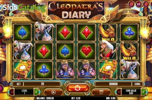 Spiele Cleopatras Diary - Video Slots Online
