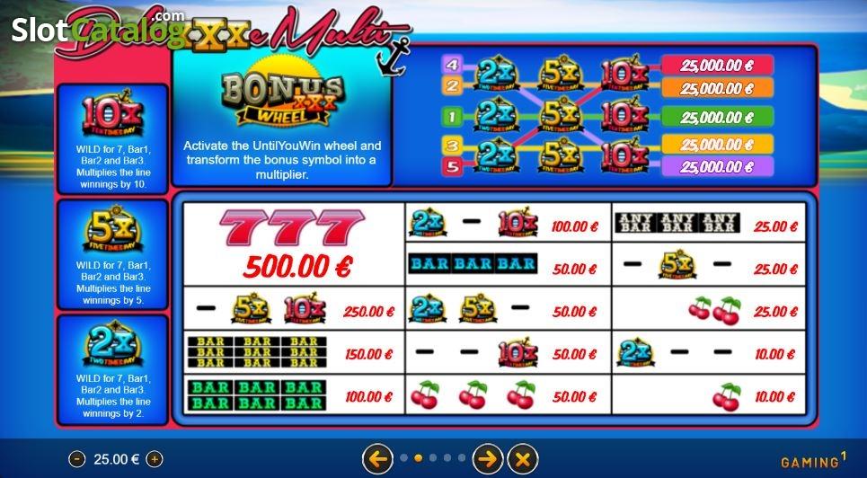 Spiele DeluXXXe Multi - Video Slots Online