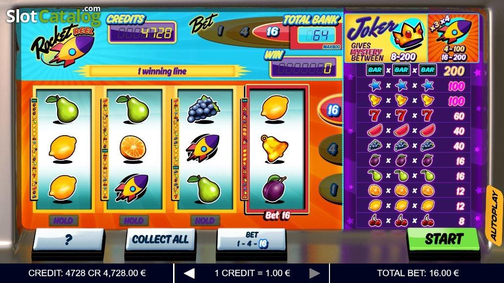 Spiele Rocket Reel - Video Slots Online