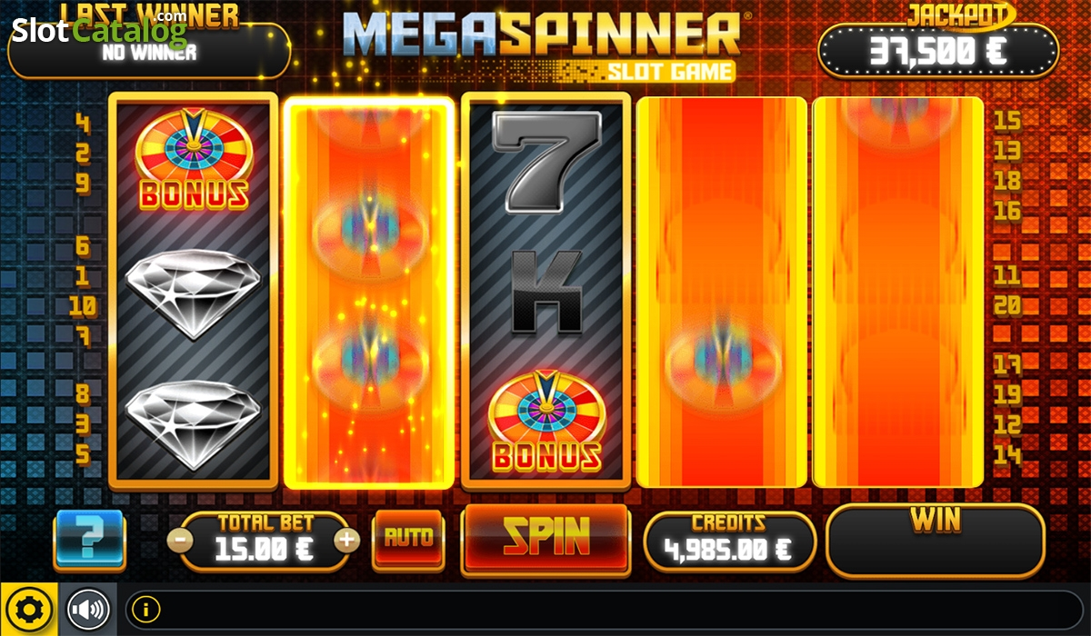 Spiele Mega Spinner - Video Slots Online
