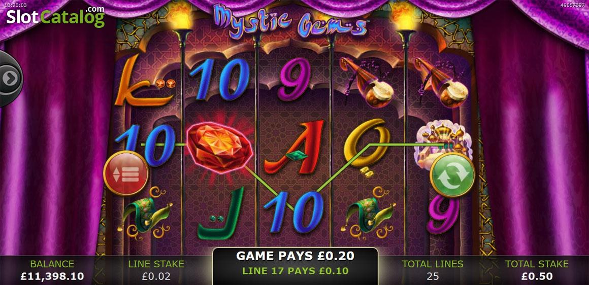 Spiele Mystic Gems - Video Slots Online
