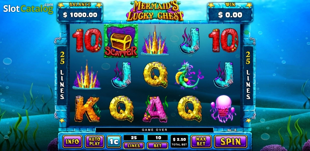 Spiele Mermaid Treasure - Video Slots Online