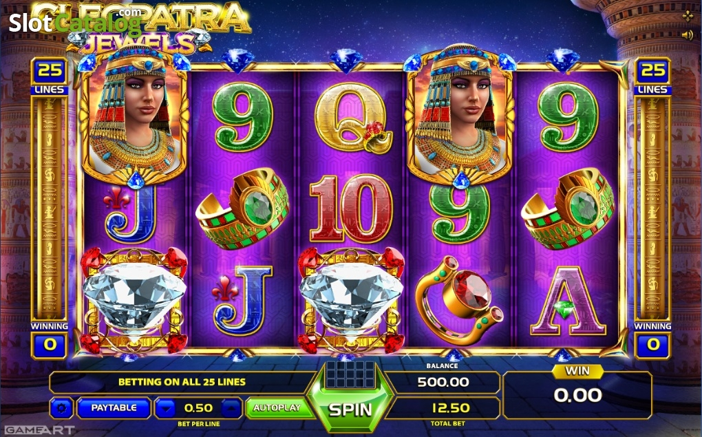 Cleopatra jewels gameart casino slots Adana