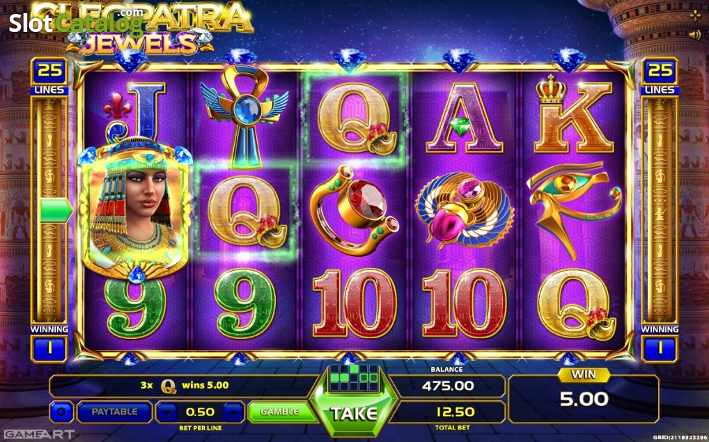 Nov 08, · Cleopatra Jewels is a GameArt title which I have played for two hours in order to be able to give you a detailed review and my honest opinion about this slot.The game was released in and is a worthy addition to all those Cleopatra slots which do their job better or worse/5(K).