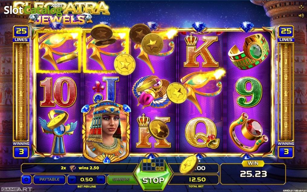 Cleopatra jewels slot machine online gameart online