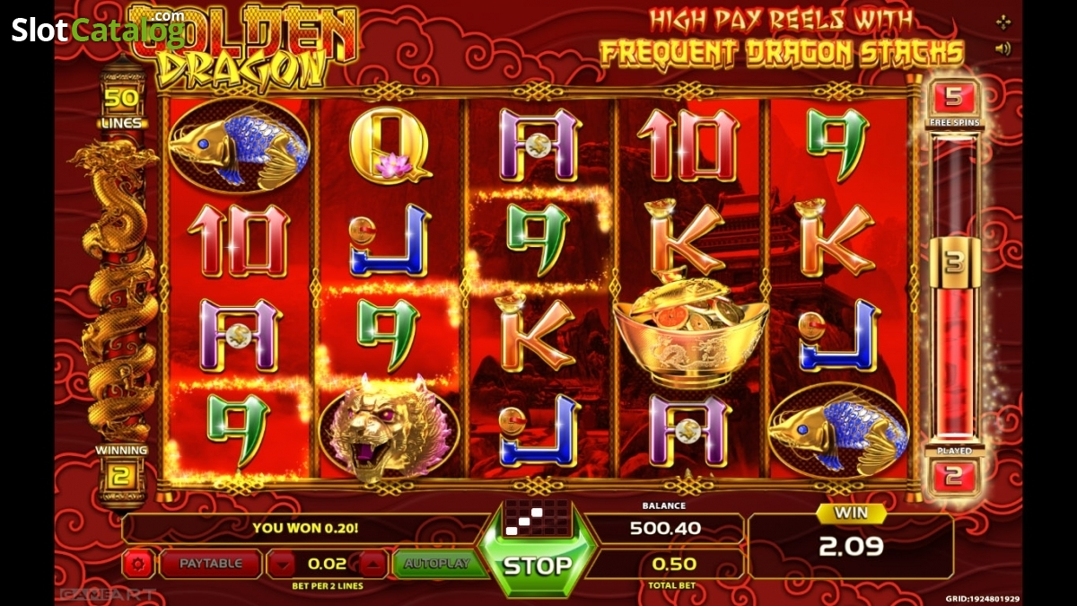 Spiele Golden Dragon - Video Slots Online