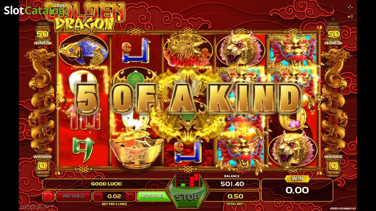 Golden Dragon Play From Home