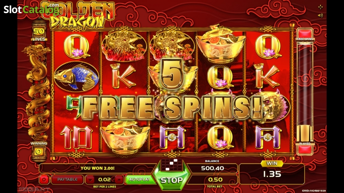Golden Dragon Games