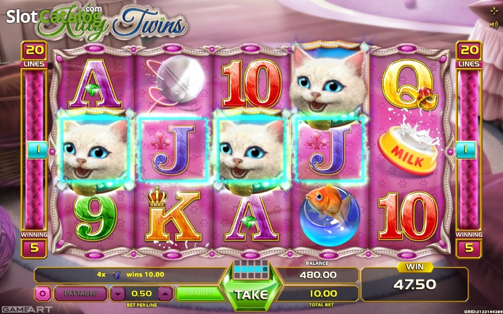 Spiele Kitty Twins - Video Slots Online