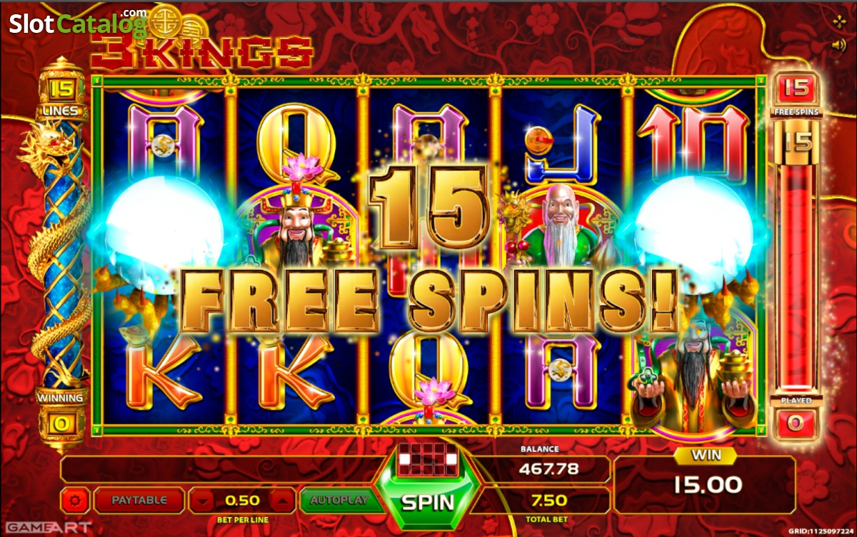 Three Kings Slots