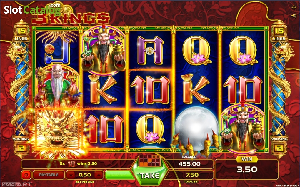 Three Kings Casino Game