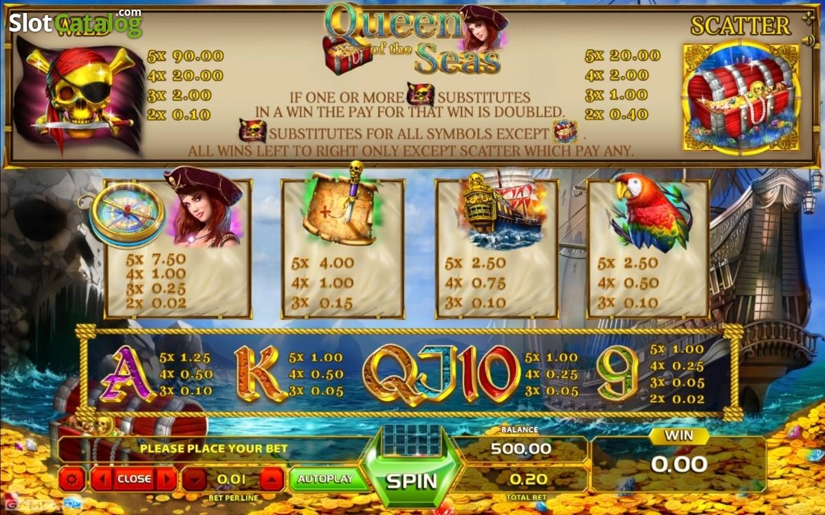 Spiele Queen Of The Seas - Video Slots Online