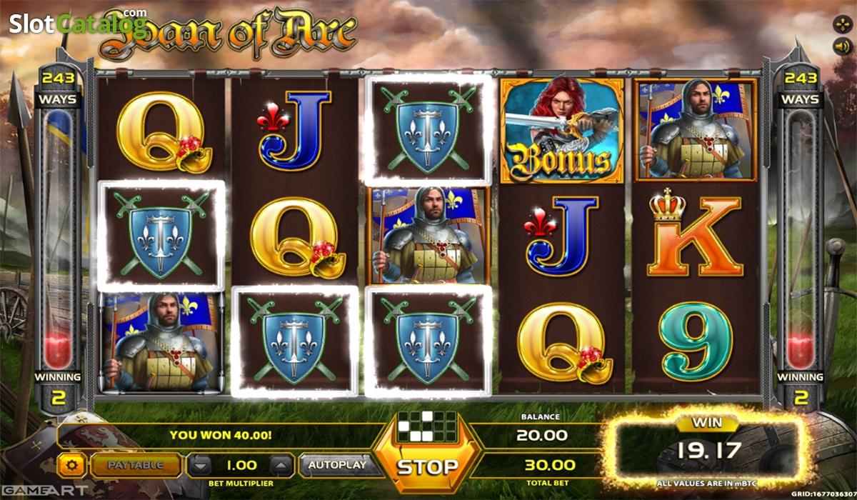 Spiele Joan Of Arc - Video Slots Online