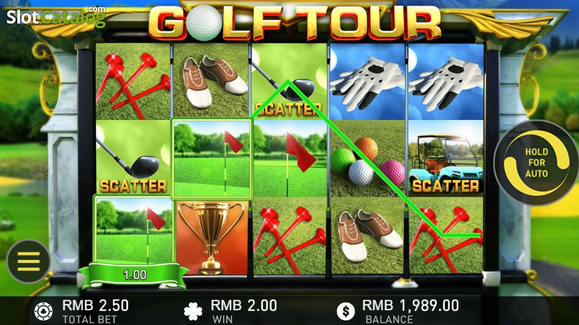 Golf slots game