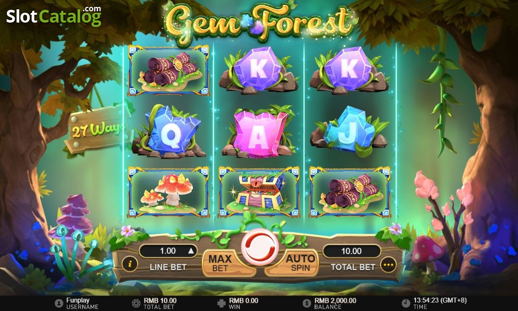 Gem Forest Slot ᐈ Claim a bonus or play for free!
