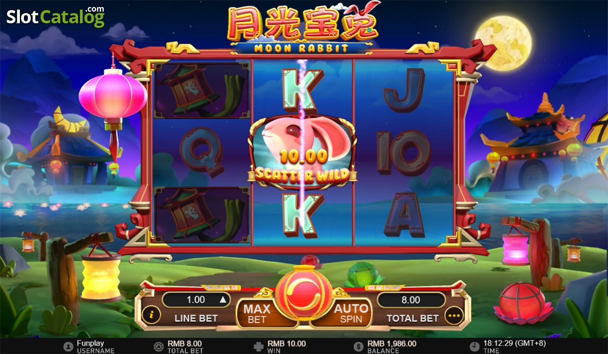 Spiele Moon Rabbit - Video Slots Online