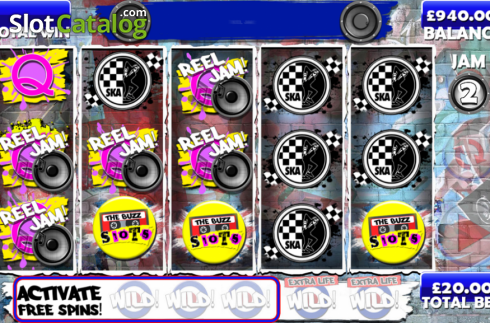 Screen11. The Buzz Slots (Video Slot from Games Warehouse)