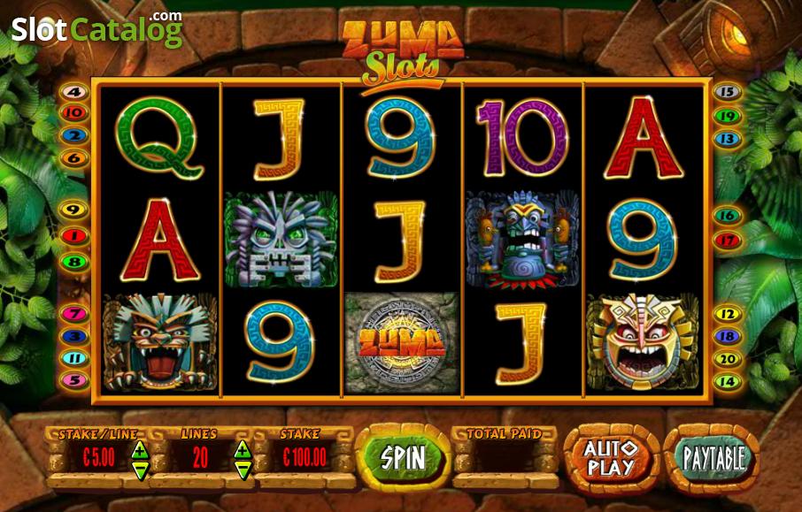 Zuma Casino Game