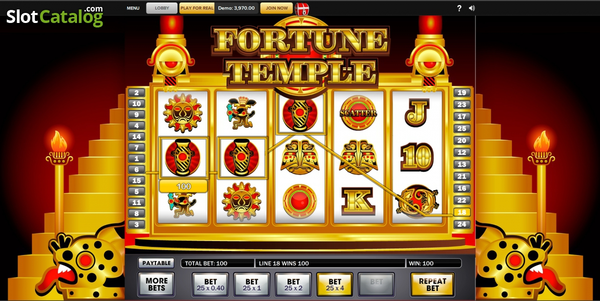 Fortune temple slots free slot games that pay real money