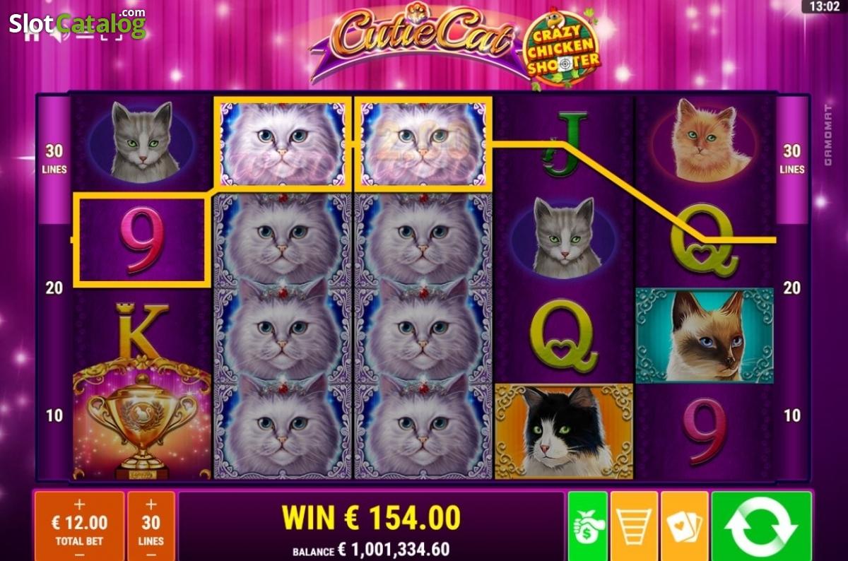 Spiele Cutie Cat - Crazy Chicken Shooter - Video Slots Online