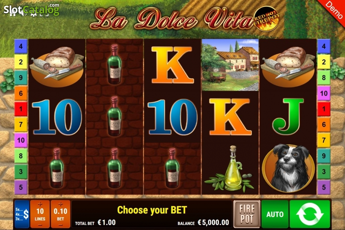 Spiele La Dolce Vita - Red Hot Firepot - Video Slots Online