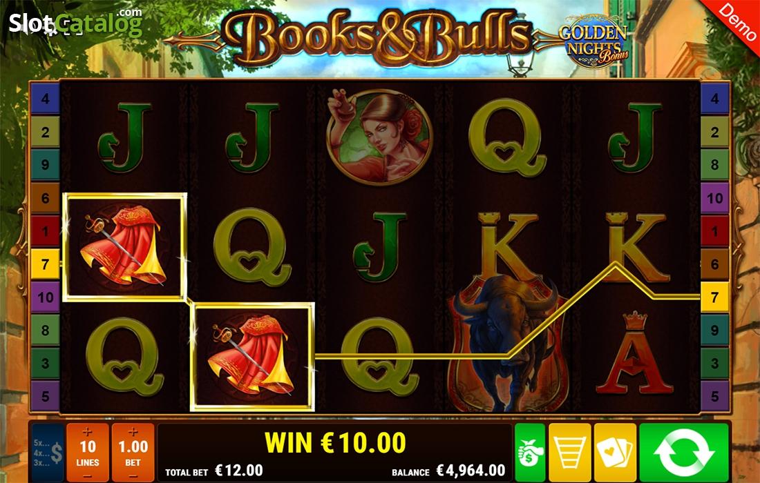 Spiele Book & Bulls - Golden Nights Bonus - Video Slots Online