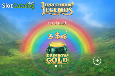 Game features. Leprechaun Legends (Video Slot from Genesis)