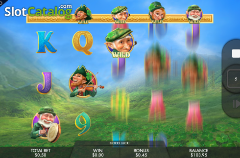 Free spins. Leprechaun Legends (Video Slots from Genesis)