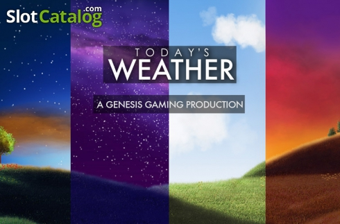 Today's Weather from Genesis