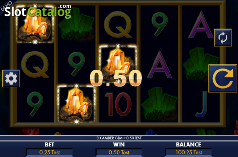 Win screen. Riches in the rough (Video Slot from Genesis)
