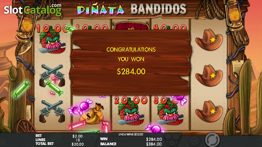 Piñata Bandidos Slot Review, Bonus Codes & where to play from United Kingdom