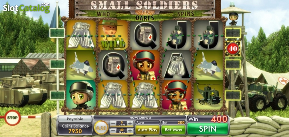 Spiele Small Soldiers - Video Slots Online