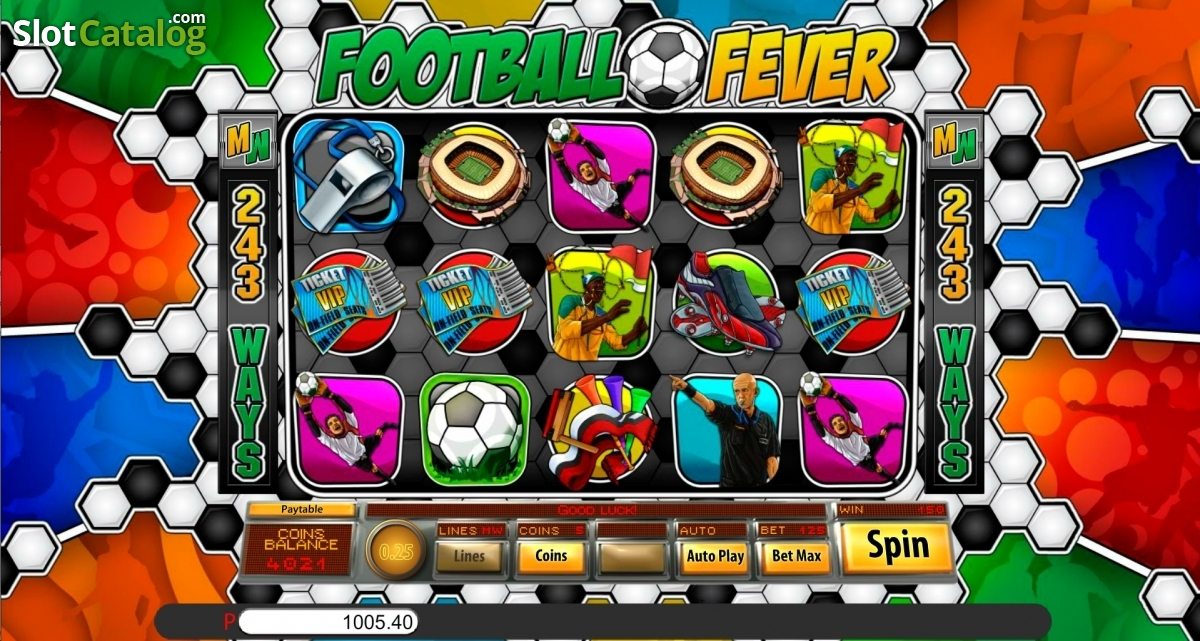 Try Football Fever Slots with No Download Needed