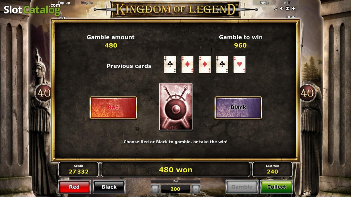 novomatic выпустил игровой автомат kingdom of legend