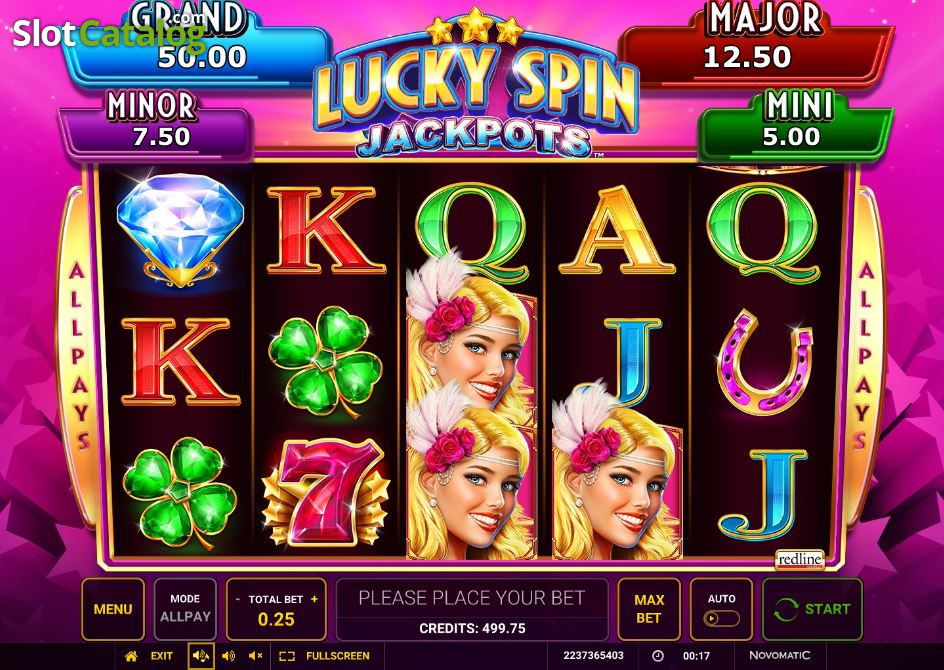 Lucky Spin Jackpots Slot Machine