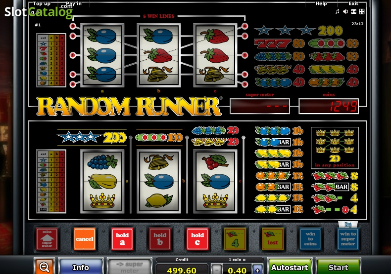 Spiele Random Runner AWP - Video Slots Online