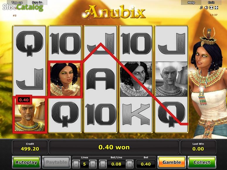 Anubix Slot Machine - Play the Novoline Slot for Free Online