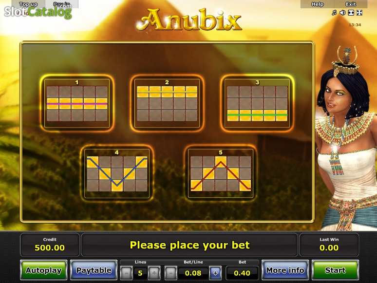 Anubix Slot Machine Online ᐈ Novomatic™ Casino Slots