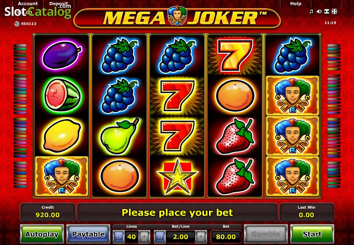 Spiele Mega Joker Slots - Video Slots Online
