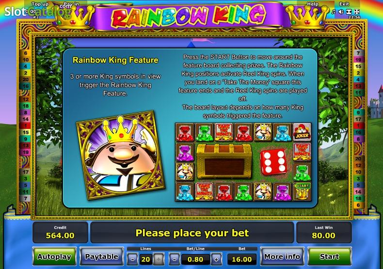 slots online spielen rainbow king